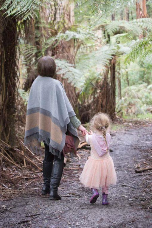 Mum and Daughter walking in the Dandenong Ranges ©Erika's Way