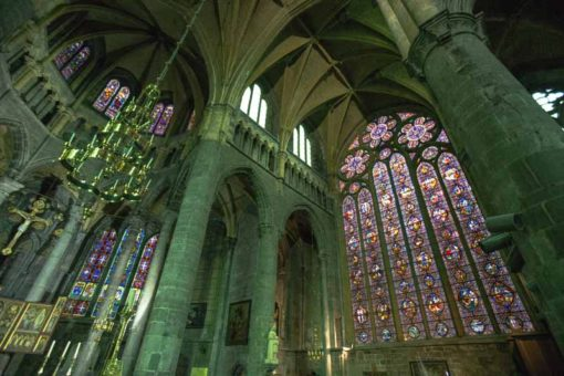 The Cathedral of Dinant, Belgium from the inside