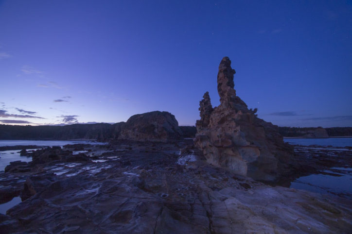 Cape Paterson, Victoria, Australia just after sunset ©Erika's Way Photography