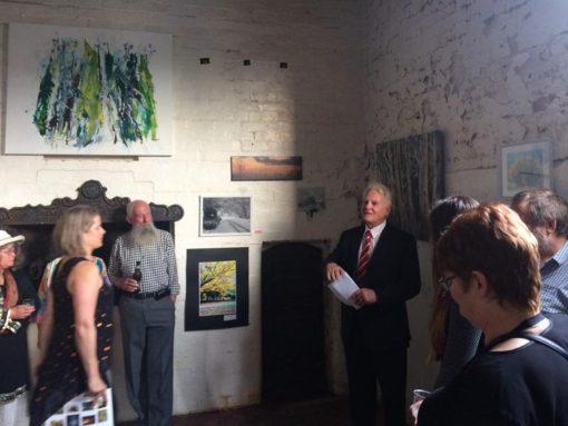 Art exhibition in Emerald, Vic