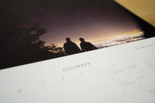 December 2017 'Love the Hills' Calendar by Stockdale&Leggo, Emerald, Vic ©Erika's Way