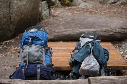 Backpacks for a three days hike at Wilsons Prom