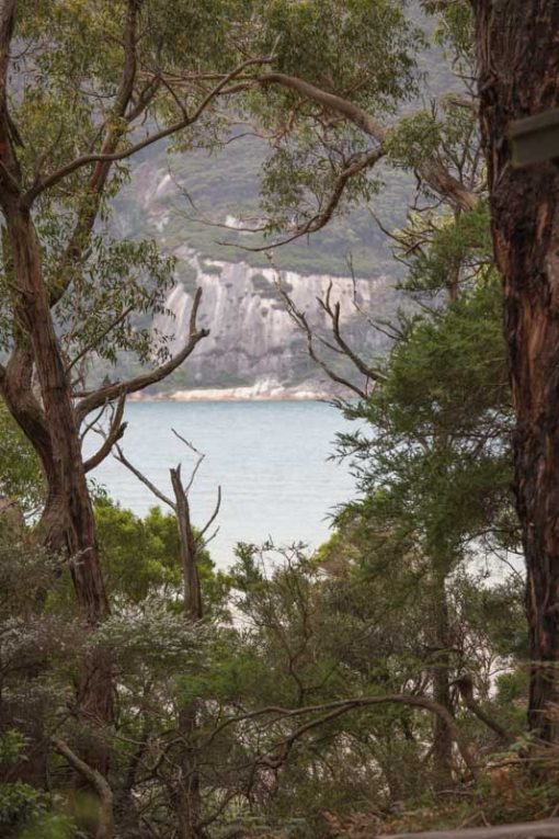 Sealers Cove view from the Campground at Wilsons Prom