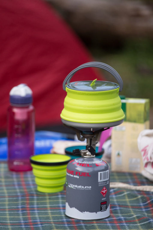 Sea to Summit silicone cookware, great for hiking