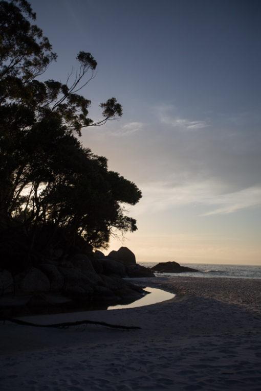 Sunrise from Little Waterloo Bay