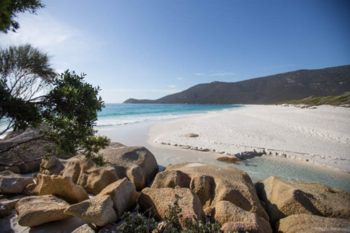 Waterloo Bay in the morning, Wilson's Promontory National Park