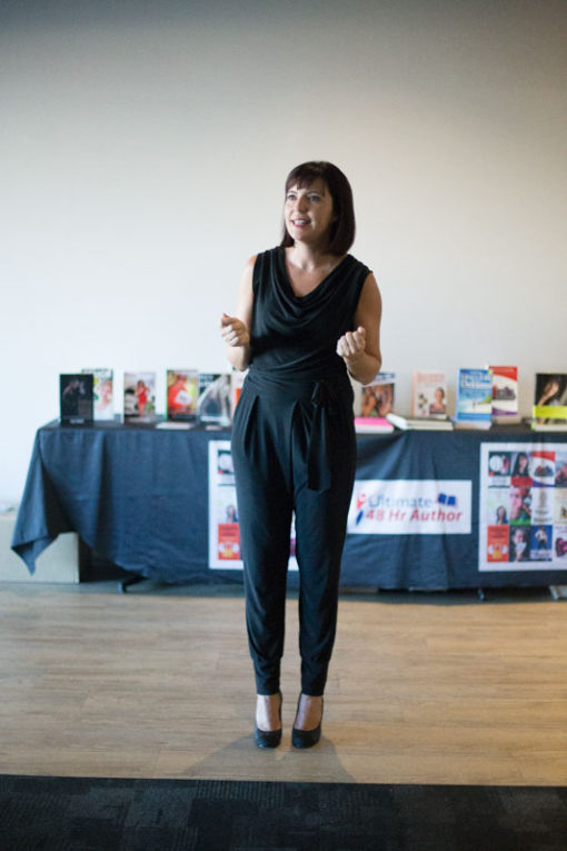 Natasa Denman talking ©Erika's Way Photography