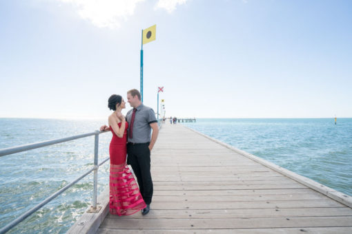 Engagement couple photo shooting sesssion in Frankston copyright Erika's Way Photographer