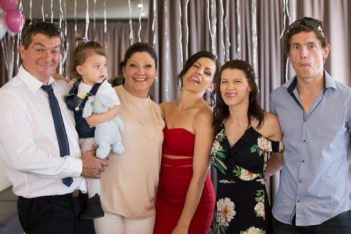 Funny family Photo at the Engagement Party at Daveys Hotel in Frankston, Vic, Mornington Peninsula. Copyright Erika's Way Photography