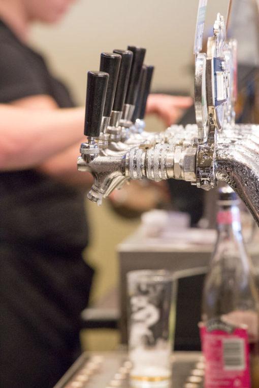 Tap beer detail at Daveys Hotel