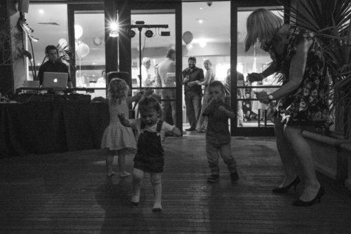 Kids dancing and having fun at Daveys Hotel in Frankston