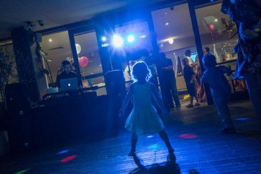 Girl dancing at nigh at Daveys Hotel in Frankston