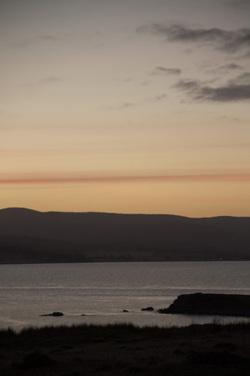 quiet sunset over Tasmania ©Erika's Way Photography
