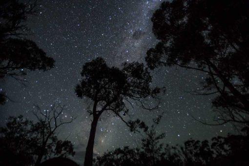 Milky Way over Maria Island in Tasmania ©Erika's Way Photography