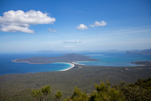 View of Maria Island, Tasmania, from Mt Maria, 709 mt ©Erika's Way Photography