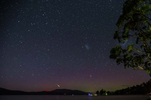 Aurora Australis in Tasmania photo by Erika's Way Photography