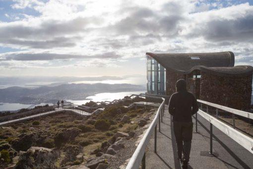 Mt Wellington in the morning sunshine, Hobart, Tasmania, ©Erika's Way Photography