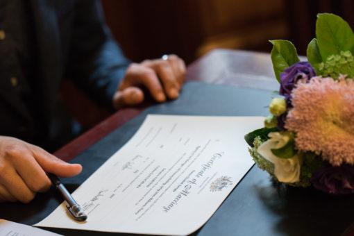 Melbourne Wedding Certificate