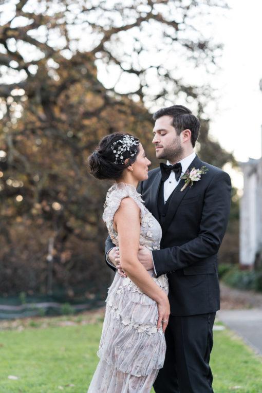 Tender hug between Husband and Wife