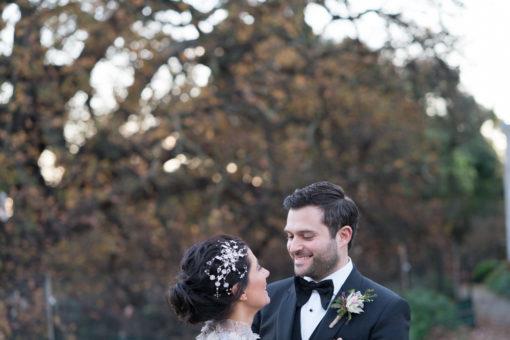 sweet look between Husband and Wife.