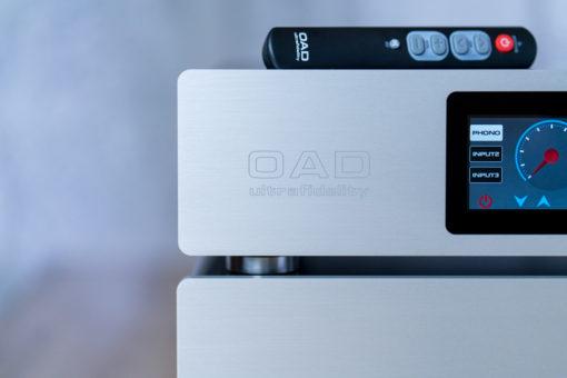 Amplifier design detail photography