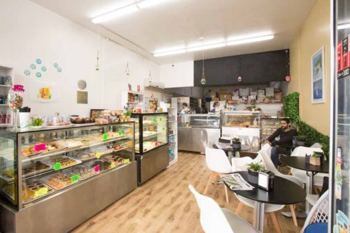 Belgrave Bakery inside overview