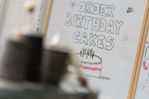 Coffee and birthday Cakes from Belgrave Bakery