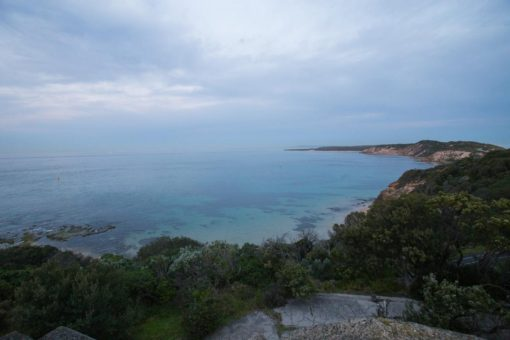 Melbourne Bay from Point Neapean