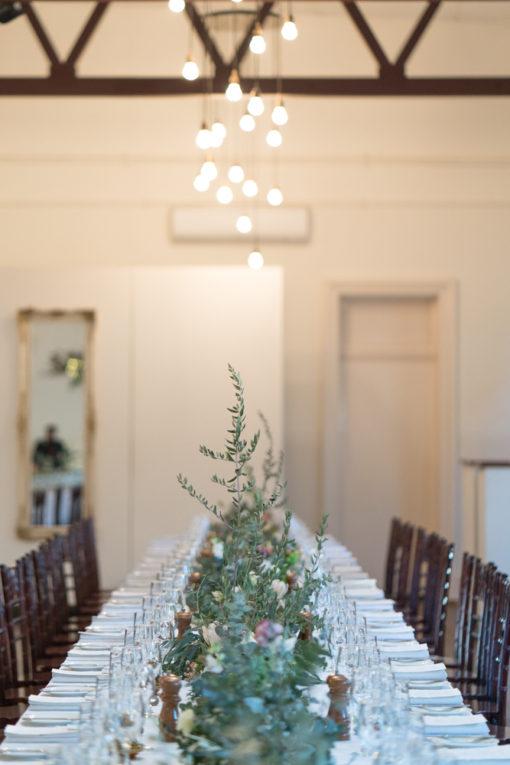 Wedding Tables set up