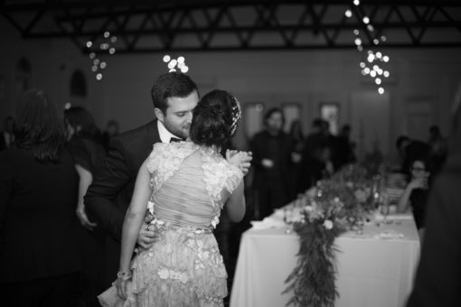 Husband and Wife dancing