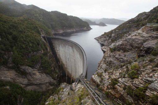 Gordon Dam Wall, Tasmania