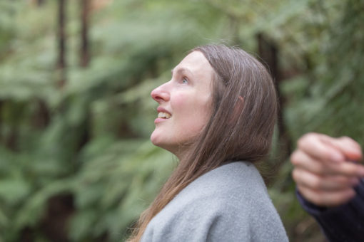 Amazed expression in the Dandenong Ranges Forest ©Erika's Way