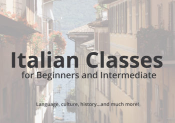 Italian Language Classes In the Dandenong Ranges 2016