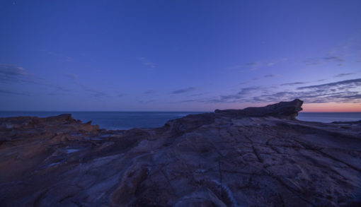 last lights of the day from the beach at Cape Paterson ©Erika's Way Photography