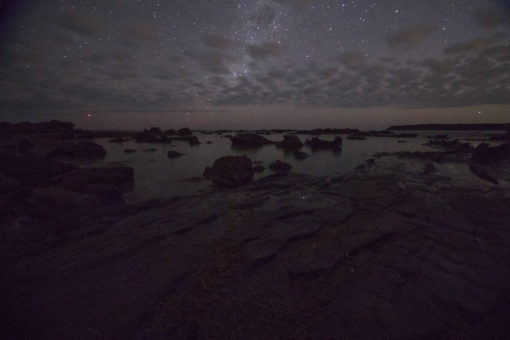 Starry night over a rockery beach, Cape Paterson, Melbourne ©Erika's Way Photography