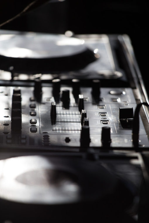 Deejay console at The Deck at Daveys Hotel in Frankston. Copyright Erika's Way Photography