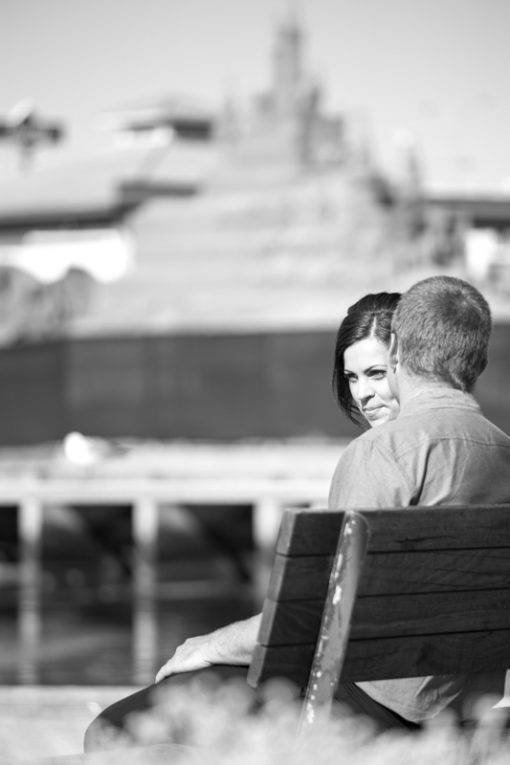 Engagement photo shooting session with the sand sculptures in Frankston, Vic. Copyright Erika's Way Photography