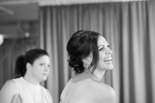 Bride and her Mum welcoming the guests at the Engagement Party at Daveys Hotel, Frankston. Copyright Erika's Way Photography