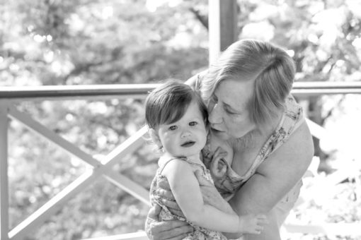 love between a Nana and her granddaughter in the Dandenong Ranges ©Erika's Way Photography