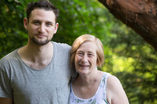 Mum and her youngest son. Family Photography in the Dandenong Ranges. ©Erika's Way Photography