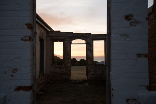sunset from the convict settlement of Maria Island ©Erika's Way Photography