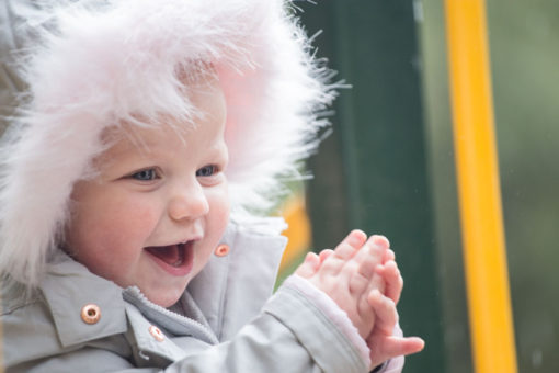 Happy baby girl by Erika's Way Photography