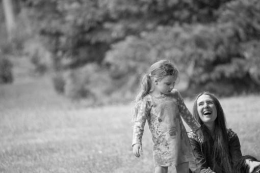 Mum and Daughter laughs. Copyright Erika's Way Photography
