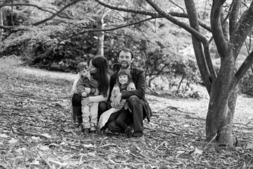Family Photo session at Alfred Nicholas Garden by Erika's Way Photography