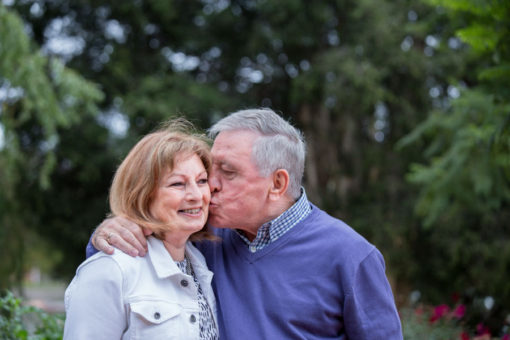 Love, still there after 36 years of marriage