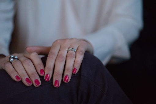 details and the fingers and the wedding ring