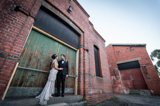 Husband and Wife. Old Factory style location, Melbourne