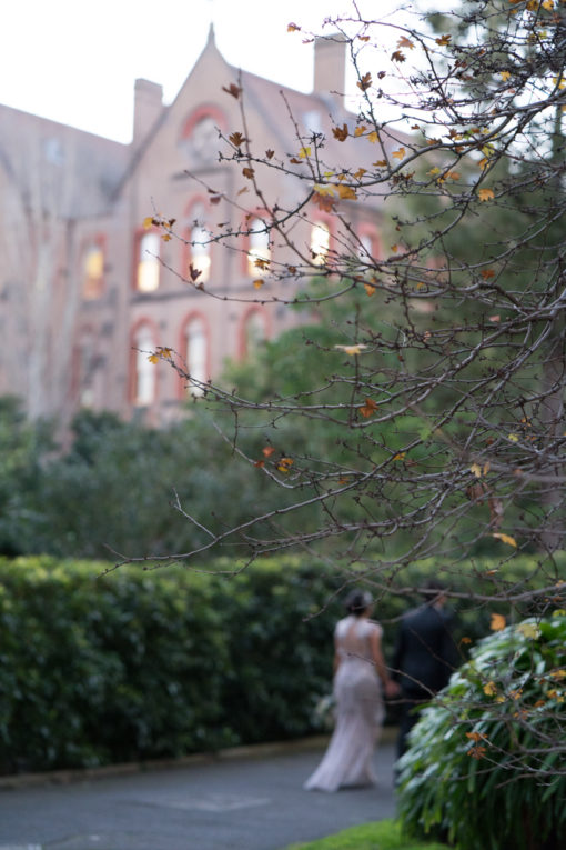 Husband and Wife. Abbotsford Convent Wedding, Melbourne, Vic. By Erika's Way Wedding Photography