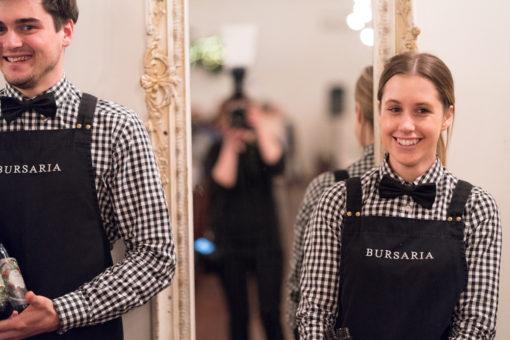 Bursaria catering staff