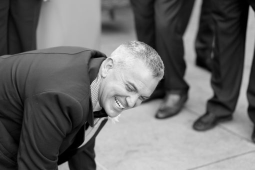 Uncles having fun just before the Wedding Ceremony